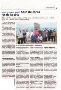 Article de la Presse d'Armor du 23 mars 2016